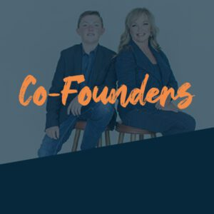 Co-Founders Tracy and Elijah