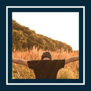 A man is praying
